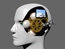 Mechanical Face - Daisy Salamin http://daisy-salamin.com/2012/11/19/oakley/