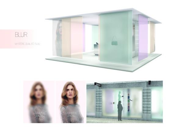 Blur est un concept surprenant qui a pour but de vendre la collection Cashmere de Manor à travers un univers mystérieux, mettant en scène la dualité par des notions de flou et de transparence. Lucie Bühlman